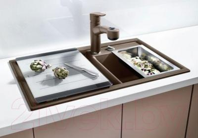 Мойка кухонная Blanco Axia II 8 (516883) - в интерьере