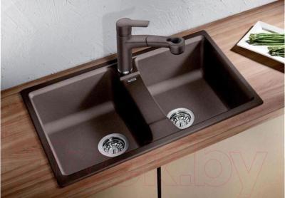 Мойка кухонная Blanco Lexa 8 (518863) - в интерьере