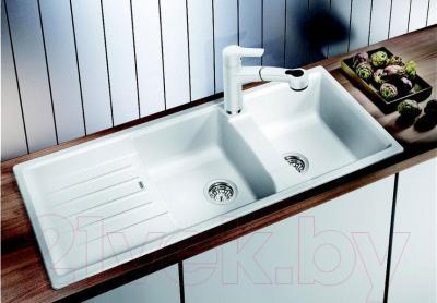Мойка кухонная Blanco Lexa 8 S  (514701) - в интерьере