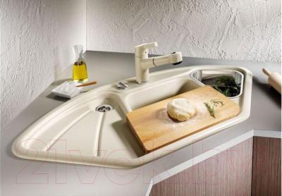 Мойка кухонная Blanco Delta Silgranit / 509013 - в интерьере