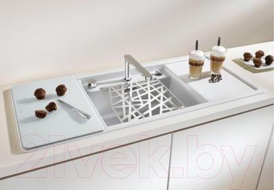Аксессуар для сантехники Blanco 225353 (нержавеющая сталь) - в интерьере