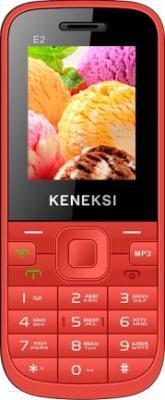Мобильный телефон Keneksi E2 (красный) - общий вид