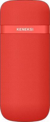 Мобильный телефон Keneksi E2 (красный) - вид сзади