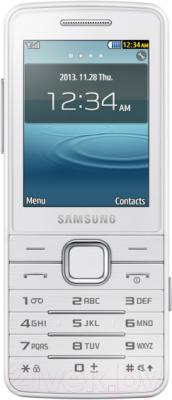 Мобильный телефон Samsung S5611 (белый) - общий вид