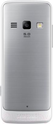 Мобильный телефон Samsung S5611 (белый) - вид сзади