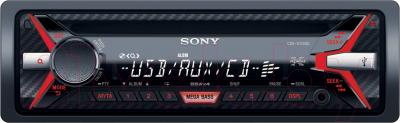 Автомагнитола Sony CDX-G1100U - общий вид