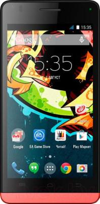 Смартфон Explay Tornado (Red) - общий вид