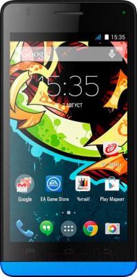 Смартфон Explay Tornado (синий) - общий вид