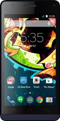 Смартфон Explay Tornado (черный) - общий вид