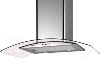 Вытяжка купольная Cata C-900 Glass H (нержавеющая сталь)