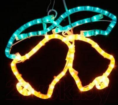 Фигура светодиодная Neon-Night Два колокольчика 501-215 - общий вид