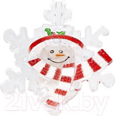 Фигура светодиодная Neon-Night Снежинка со снеговиком 501-021 - общий вид
