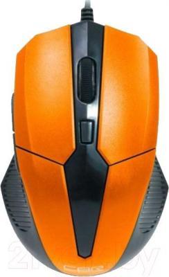 Мышь CBR CM-301 (Orange) - вид сверху