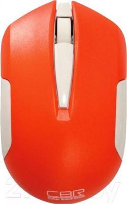 Мышь CBR CM-422 (Orange) - вид сверху
