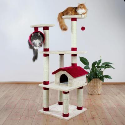 Комплекс для кошек Trixie 44881 Marissa (бежево-красный) - общий вид