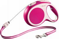 Поводок-рулетка Flexi Vario 12006 (XS, розовый) -