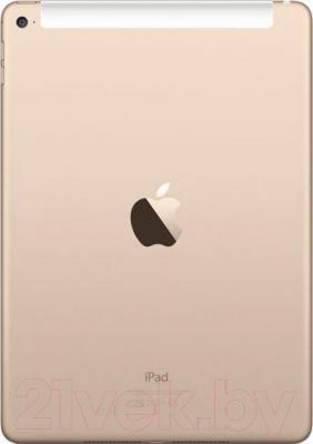 Планшет Apple iPad Air 2 128GB 4G / MH1G2TU/A (золотой) - вид сзади