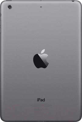 Планшет Apple iPad Mini 3 64Gb / MGGQ2TU/A (серый) - вид сзади