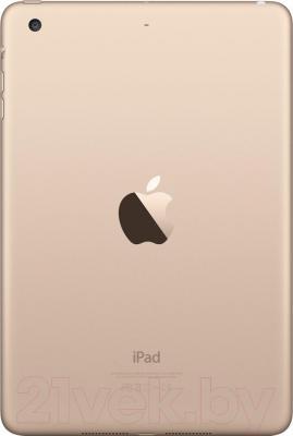 Планшет Apple iPad Mini 3 64Gb / MGY92TU/A (золотой) - вид сзади