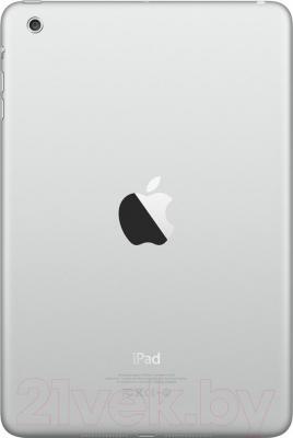Планшет Apple iPad Mini 3 128Gb / MGP42TU/A (серебристый) - вид сзади