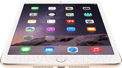 Планшет Apple iPad Mini 3 128Gb / MGYK2TU/A (золотой) - вид снизу