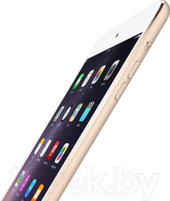 Планшет Apple iPad Mini 3 128Gb / MGYK2TU/A (золотой) - кнопки управления громкостью