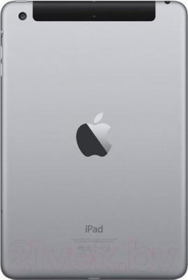 Планшет Apple iPad Mini 3 16Gb 4G / MGHV2TU/A (серый космос) - вид сзади