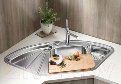Мойка кухонная Blanco Delta-IF (514626) - в интерьере