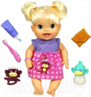 "Кукла Hasbro Малышка Baby Alive ""Новые зубки"" (28385) - комплектация"