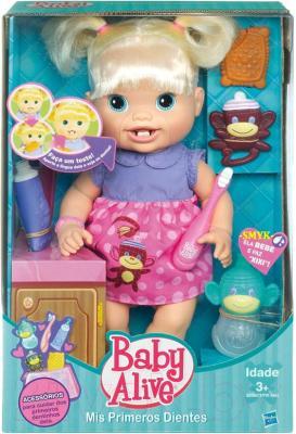 """Кукла Hasbro Малышка Baby Alive """"Новые зубки"""" (28385) - в упаковке"""