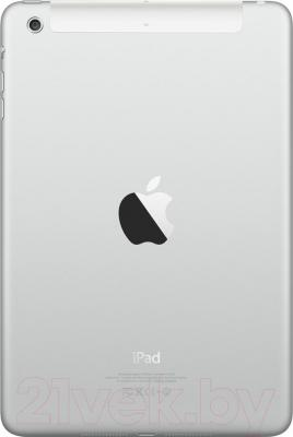 Планшет Apple iPad Mini 3 128Gb 4G / MGJ32TU/A (серебристый) - вид сзади