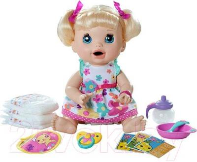 Кукла Hasbro Baby Alive Удивительная малютка (A3684) - комплектация