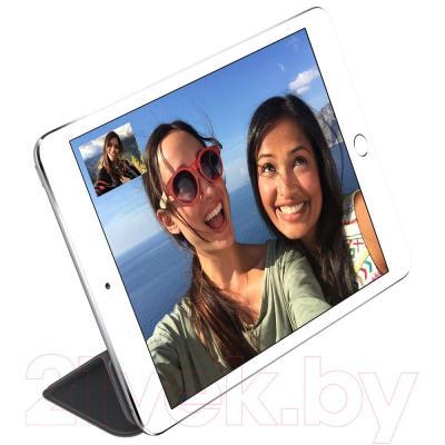 Чехол для планшета Apple iPad mini Smart Cover MGNC2ZM/A (черный) - пример использования