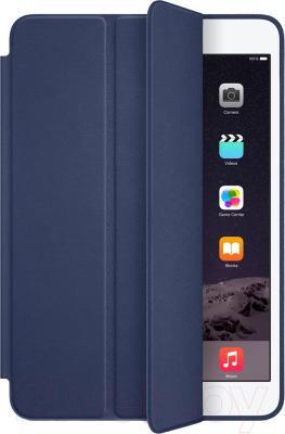 Чехол для планшета Apple iPad mini Smart Case MGMW2ZM/A (темно-синий) - общий вид