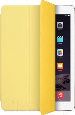 Чехол для планшета Apple iPad Air Smart Cover MGXN2ZM/A (желтый) - общий вид