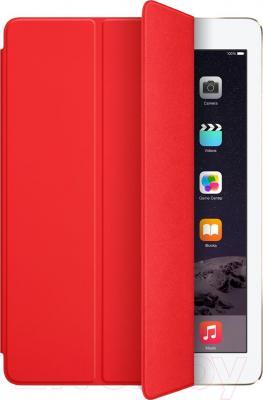 Чехол для планшета Apple iPad Air Smart Cover MGTP2ZM/A (красный) - общий вид
