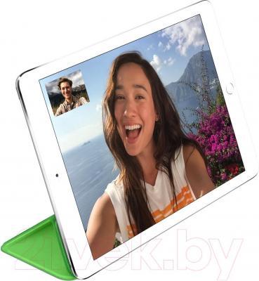 Чехол для планшета Apple iPad Air Smart Cover MGXL2ZM/A (зеленый) - пример использования