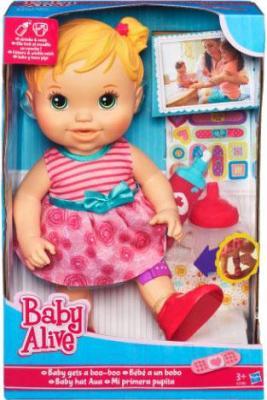 Кукла Hasbro Baby Alive Вылечи малышку (A5390) - в упаковке
