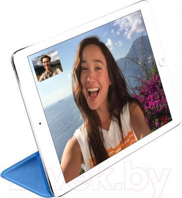 Чехол для планшета Apple iPad Air Smart Cover MGTQ2ZM/A (синий) - пример использования
