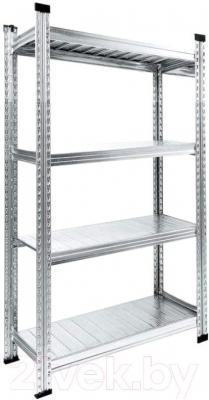 Стеллаж металлический Metalsistem S0.B.90.60/4 - общий вид
