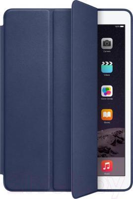 Чехол для планшета Apple iPad Air 2 Smart Case MGTT2ZM/A (темно-синий) - общий вид