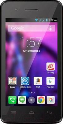 Смартфон Explay Light (черный) - общий вид