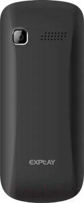 Мобильный телефон Explay Simple (черный) - вид сзади
