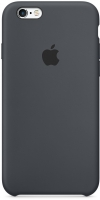 Чехол-бампер Apple iPhone 6 Silicone Case Black (MGQF2ZM/A) -