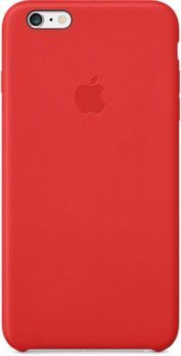 Накладной чехол Apple iPhone 6 Plus Leather Case MGQY2ZM/A (красный) - общий вид