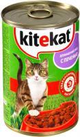 Корм для кошек Kitekat Домашний обед с печенью (24x410g) -