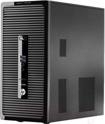 Системный блок HP ProDesk 405 G1 (J4B15EA) - вполоборота