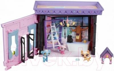 Игровой набор Hasbro Littlest Pet Shop Стильный Зоомагазин (A7322) - с открытой дверцей