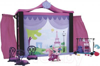 Кукольный домик Hasbro Littlest Pet Shop Стильный подиум для показа мод (A7942) - общий вид