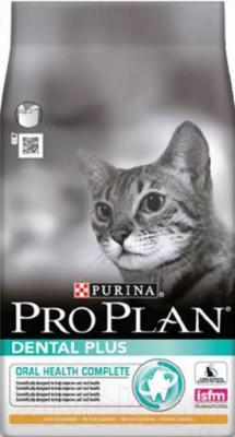 Корм для кошек Pro Plan Dental Plus с курицей против заболеваний полости рта (3 кг) - общий вид